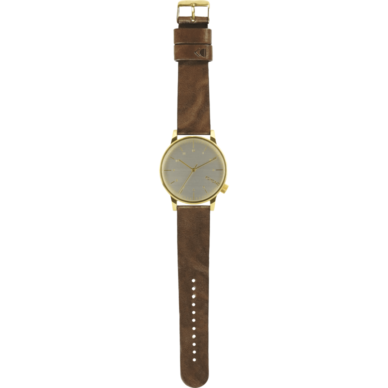 Komono Winston Regal Watch | Saddle Brown KOM-W2254