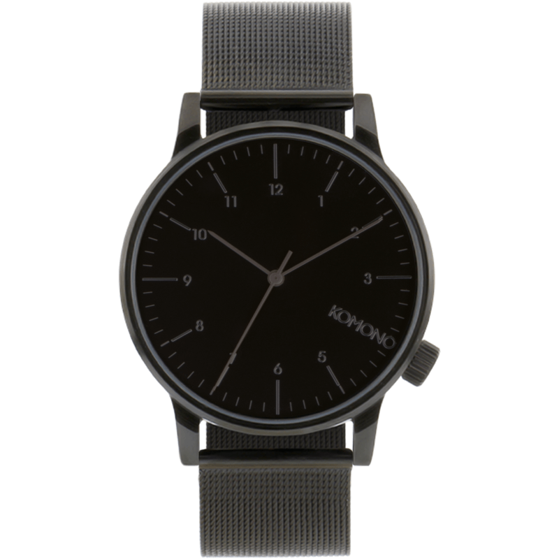 Komono Winston Royale Watch | Black KOM-W2352