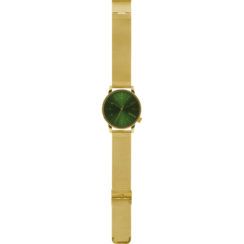 Komono Winston Royale Watch | Gold Green KOM-W2355