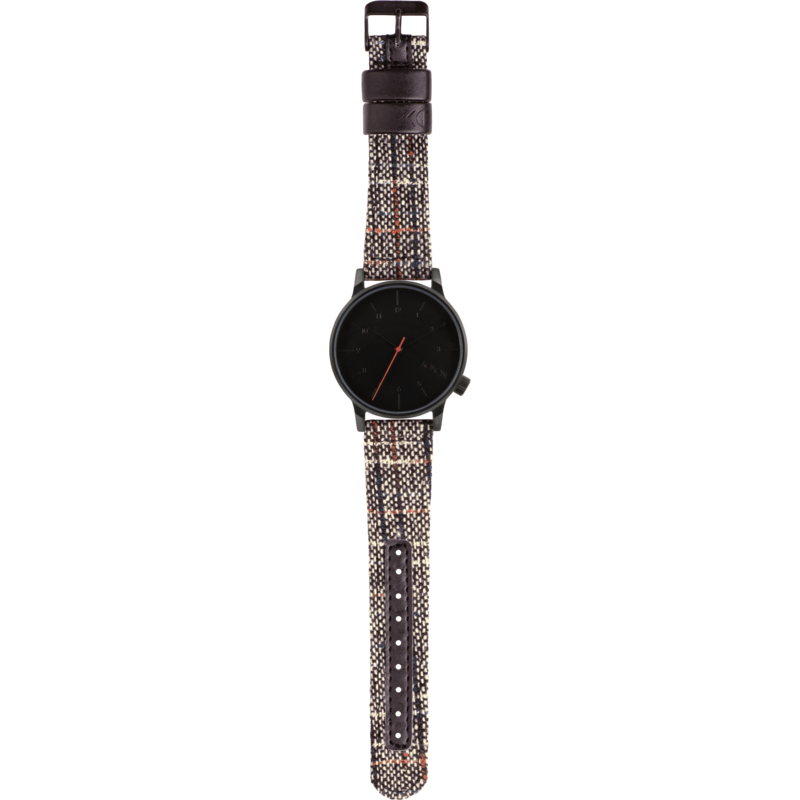 Komono Winston Tweed Watch | Black KOM-W2302
