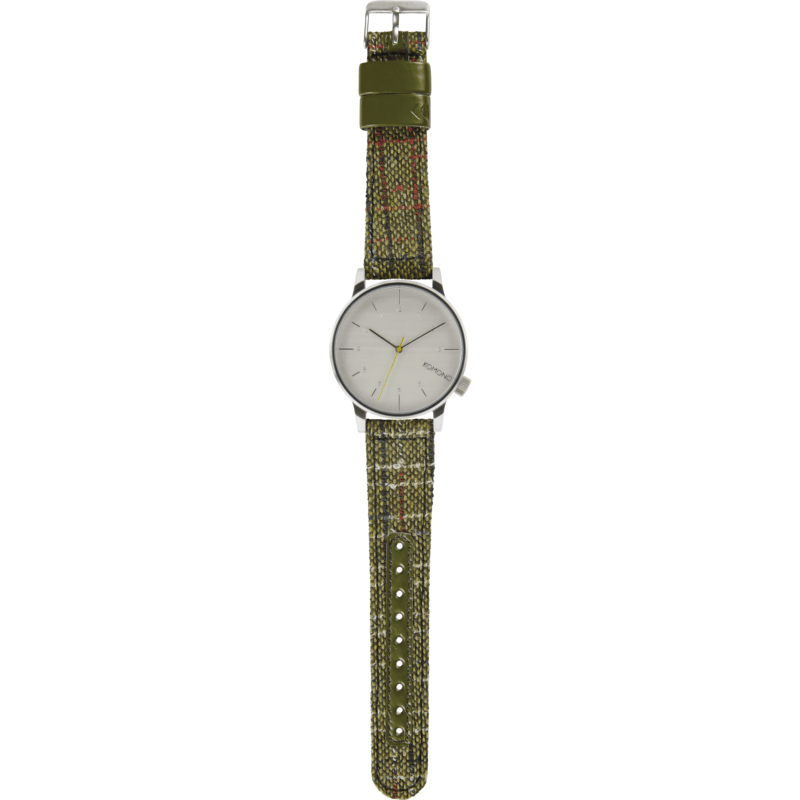 Komono Winston Tweed Watch | Green KOM-W2300