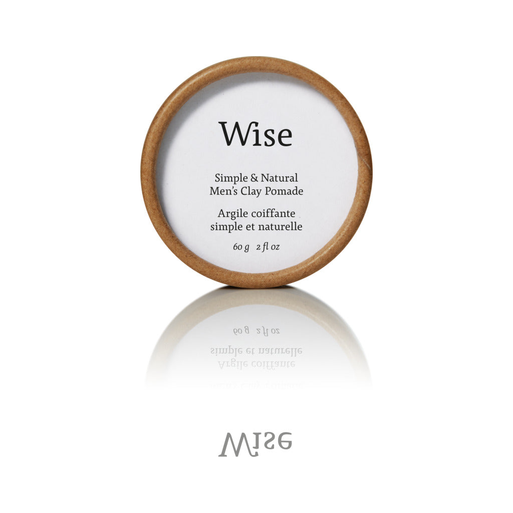 Wise Glacier Clay Pomade | Refill Container 60 ml CLR