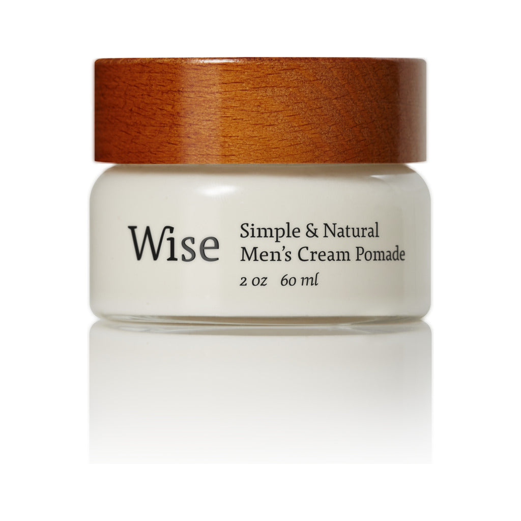 Wise Red Maple Cream Pomade | Glass Container 60 ml CR