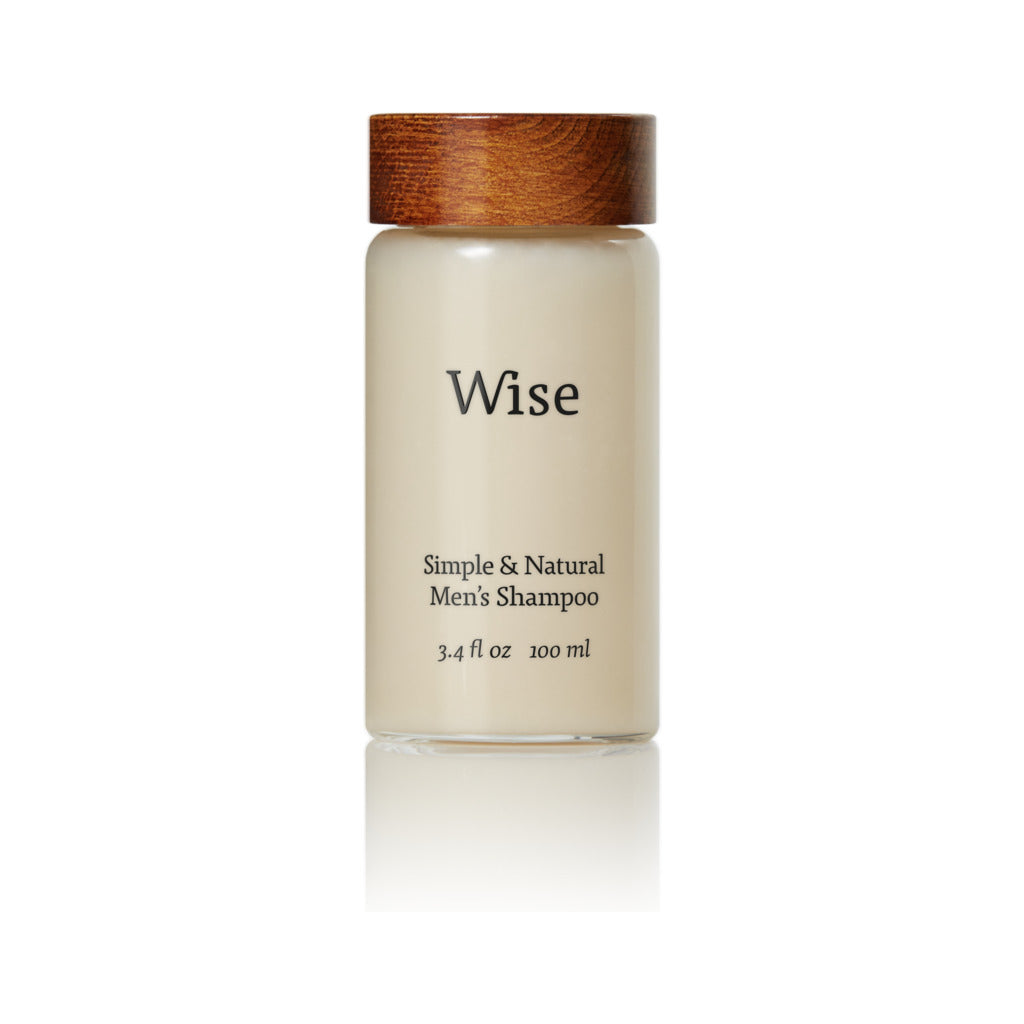 Wise Birch Bark Daily Shampoo | Glass Container 100 ml SH