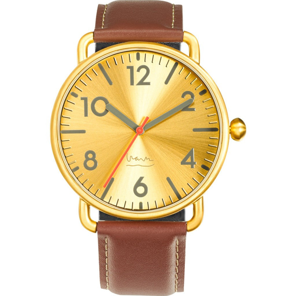 Projects Watches Witherspoon Watch | Brass 7108 B