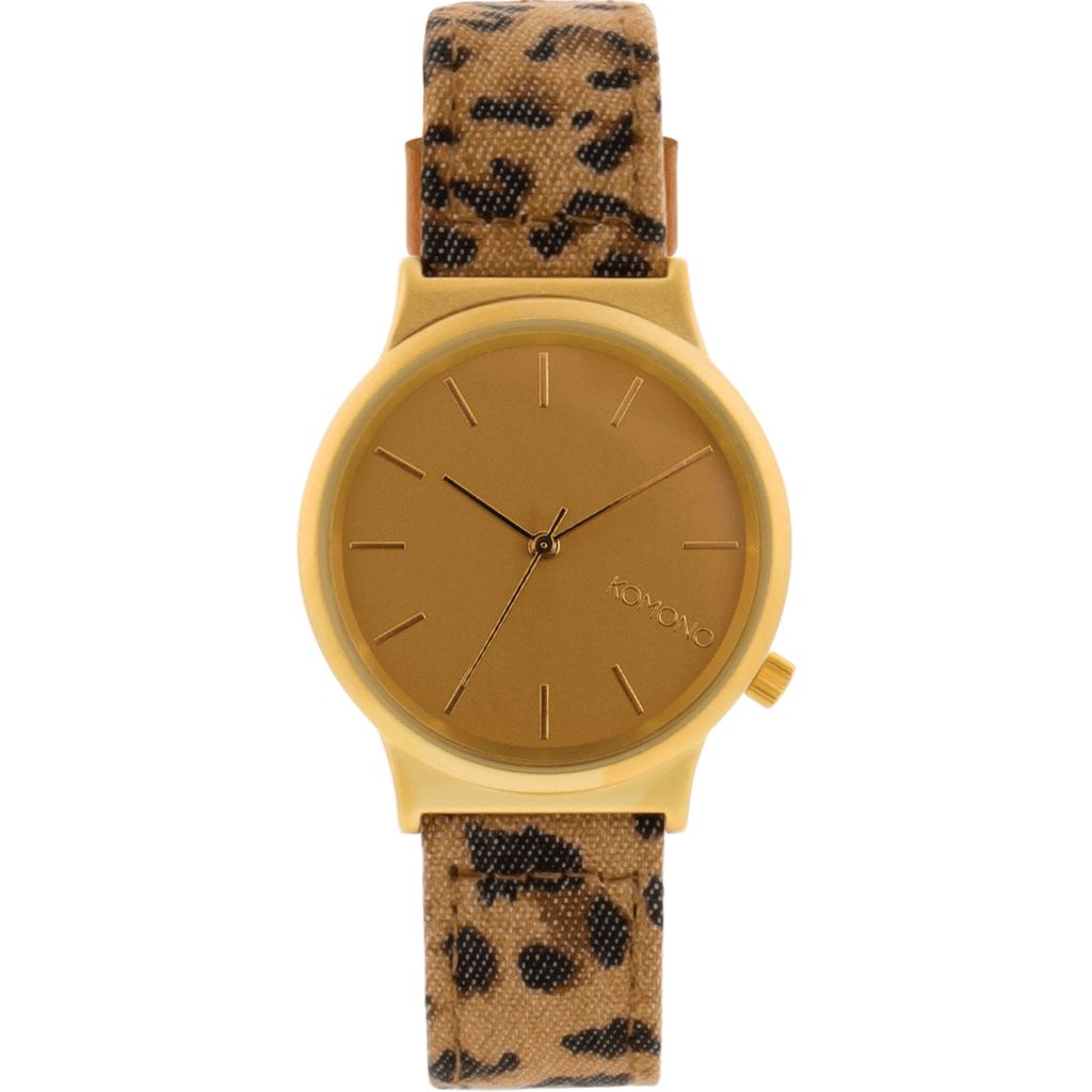 Komono Wizard Print Watch | Leopard