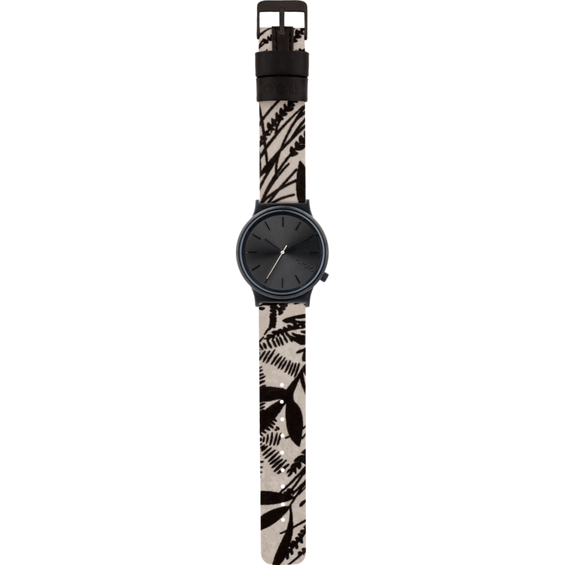 Komono Wizard Print Series Watch | Black Palms