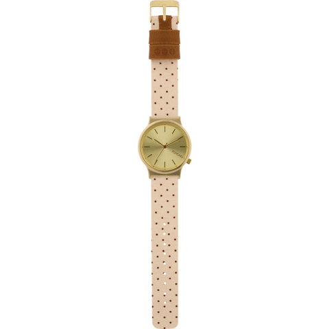 Komono Wizard Print Series Watch | Polka Dot Sand