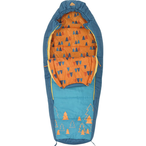 Kelty Woobie Kids 30F Boys Sleeping Bag | Blue- 35416814SR