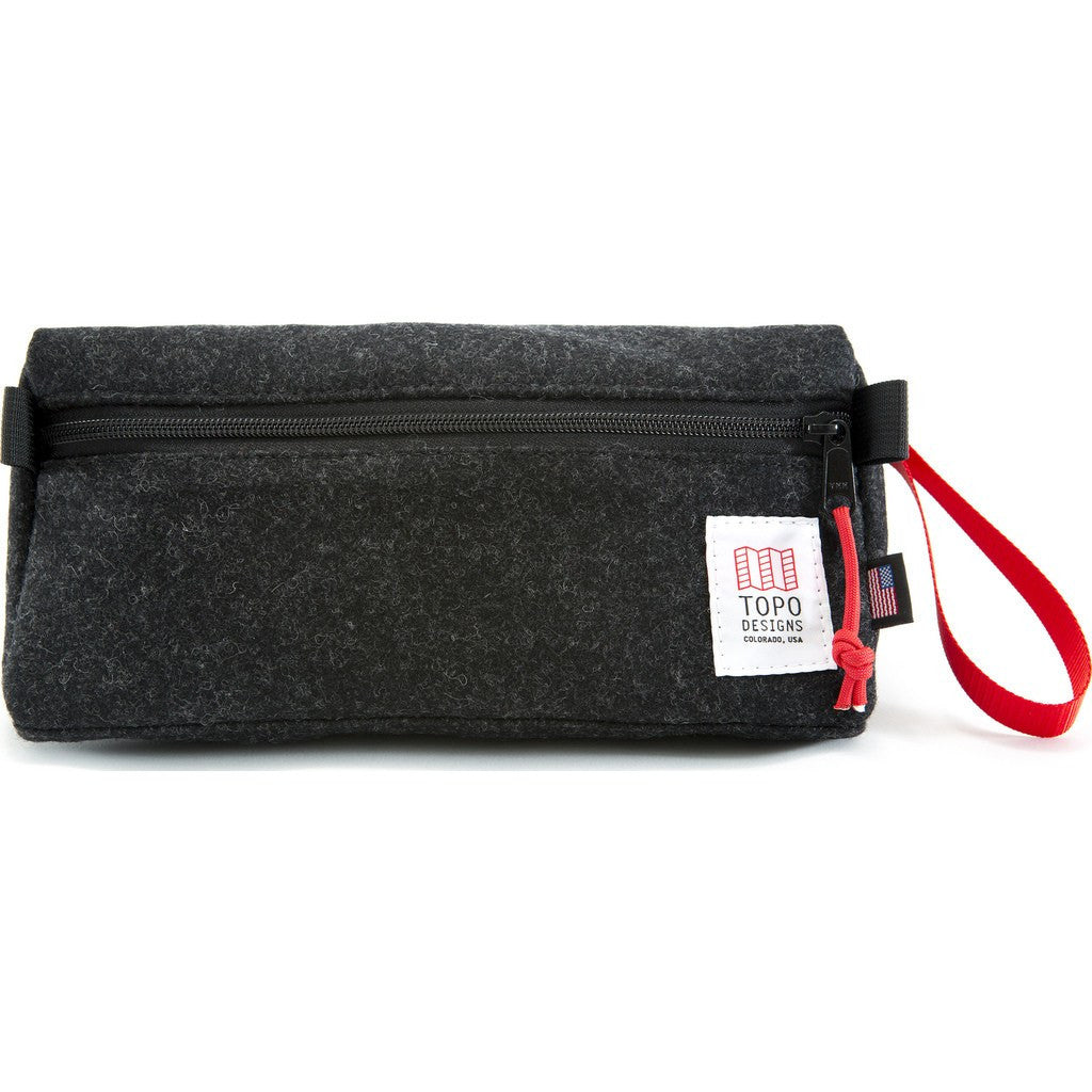 Topo Designs Dopp Kit | Black Wool
