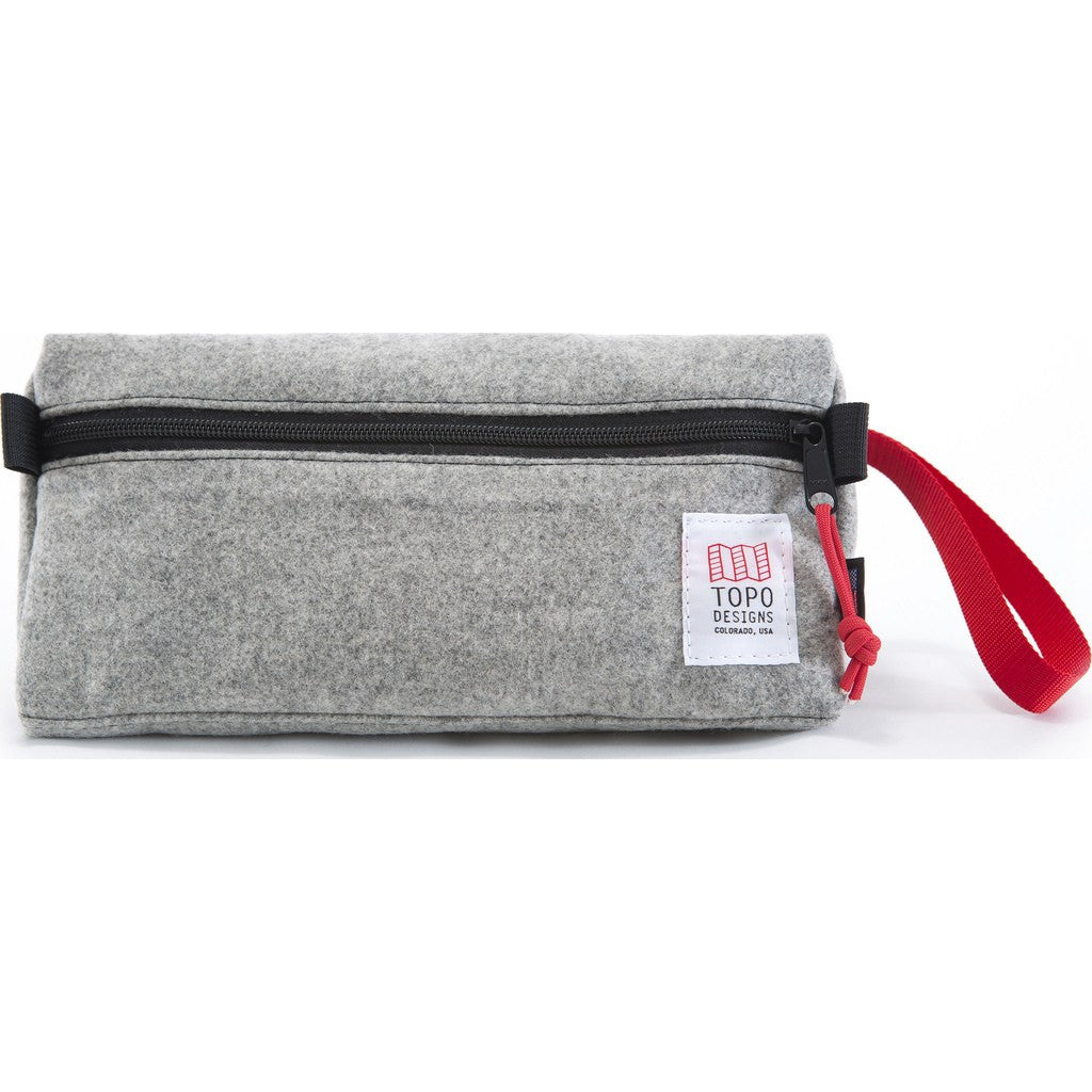 Topo Designs Dopp Kit | Grey Wool