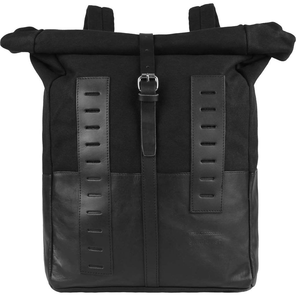 Sandqvist Wrenchmonkees Rolltop Backpack | Black SQA348