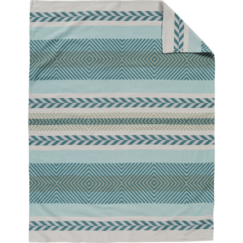Pendleton Mojave Twill Twin Bed Blanket | Sky XA310-53498