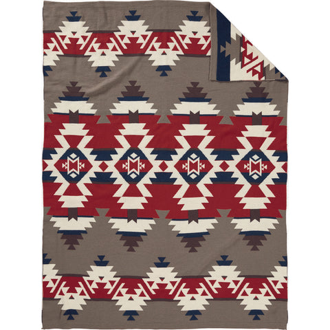 Pendleton Mountain Majesty Knit Throw Blanket | Fawn- XF230 53053