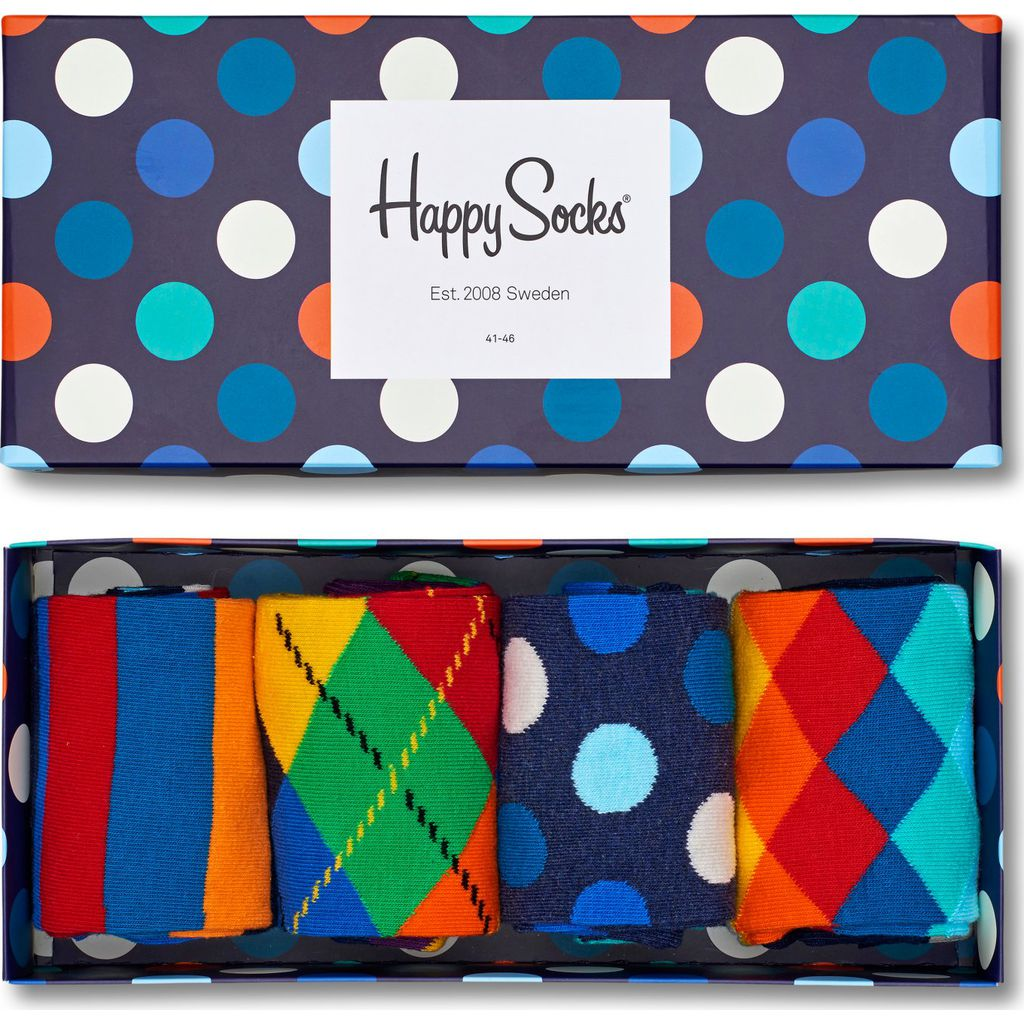 Happy Socks Mixed Sock Gift Box | Assorted