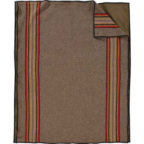 Pendleton Yakima Camp Roll Up Blanket | Mineral Umber-  XR342 52553