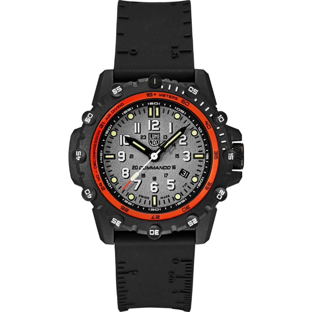 Luminox Commando Frogman Grey/White Watch 3301 | 46mm