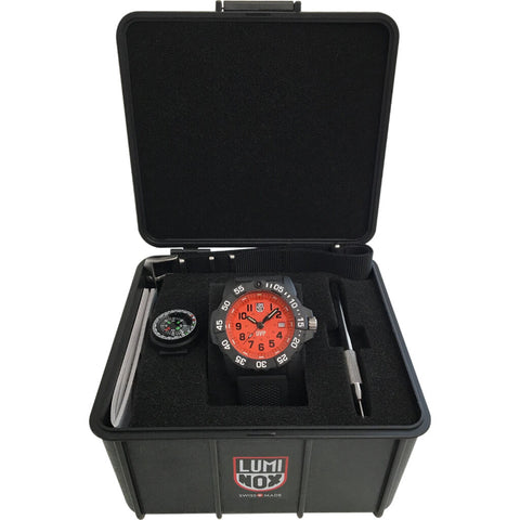 Luminox Scott Cassell UVP Orange / Black Special Edition 3509.SC.SEL | 45mm