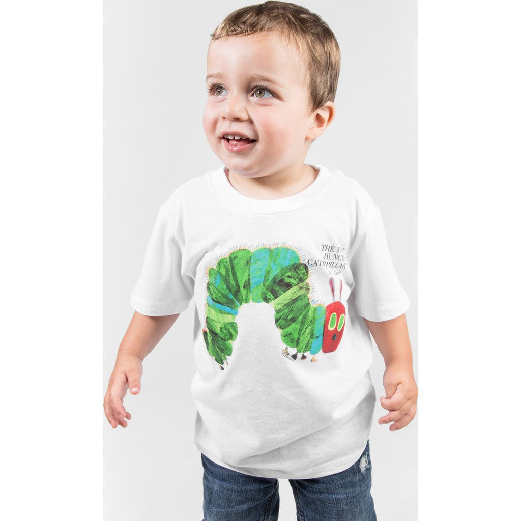Out of Print The Very Hungry Caterpillar Kid's T-Shirt | White Size 4,6 Y-1010