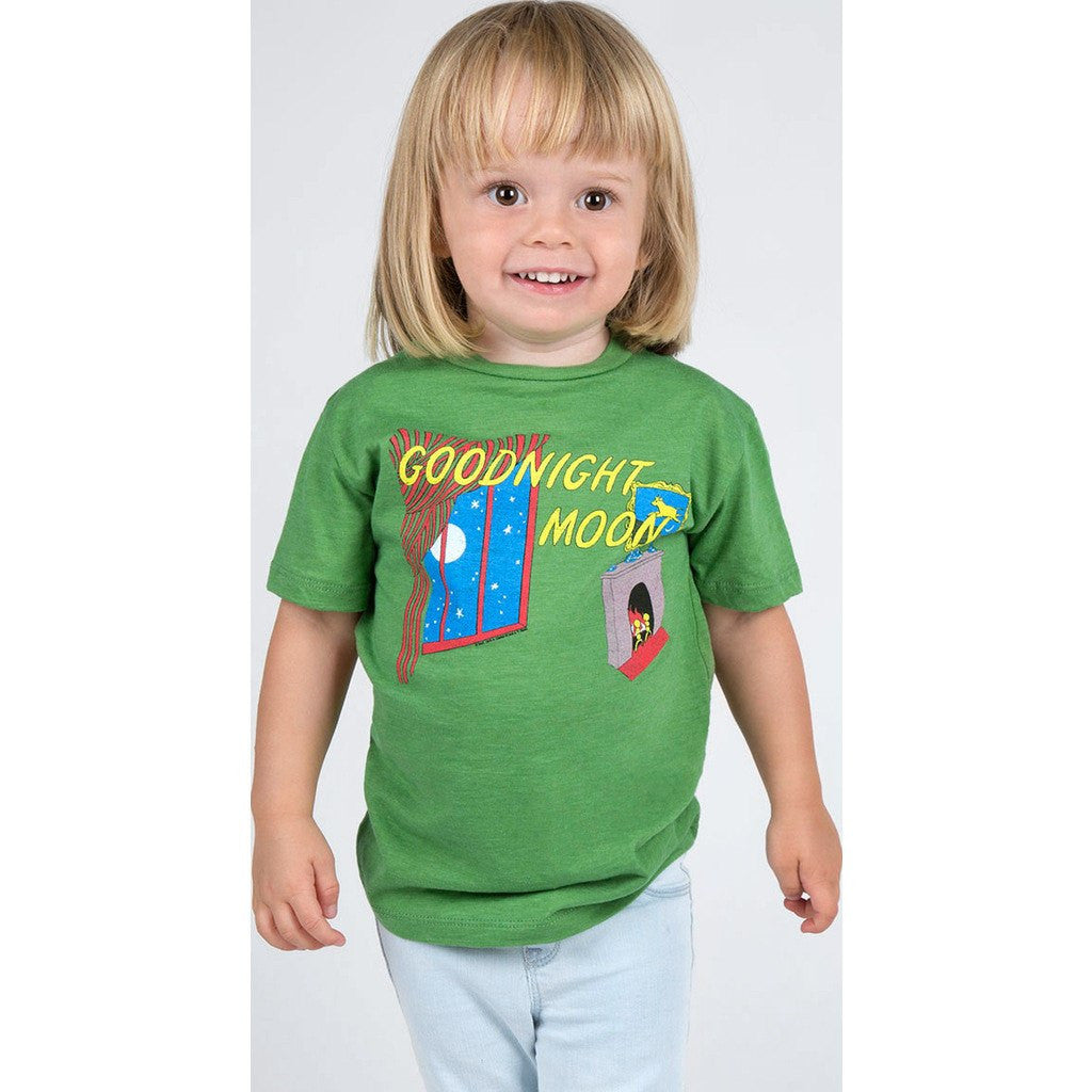 Out of Print Goodnight Moon Kid's T-Shirt | Green Y-1027