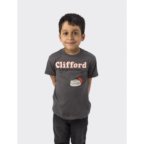 Out of Print Clifford the Small Red Puppy T-Shirt | Gray