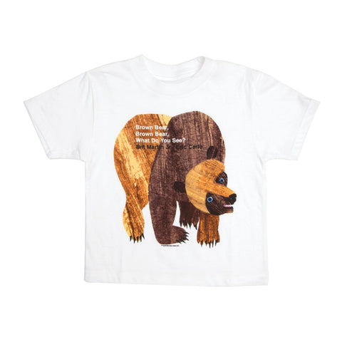 Out of Print Brown Bear, Brown Bear, What Do You See? Kid's T-Shirt | Y-1034 2Yr