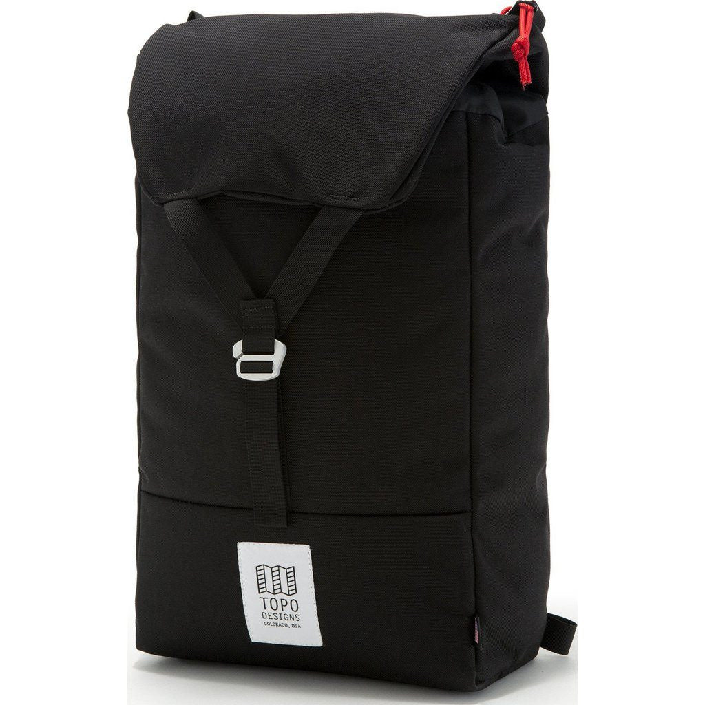 Topo Designs Y-Pack Backpack | Black