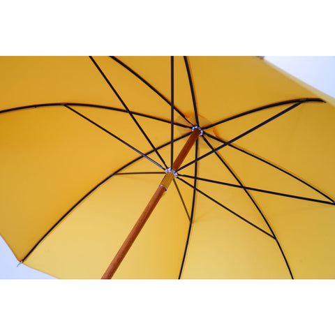 London Undercover City Gent Multi Yellow Umbrella | Recycled Handle LU MCG-004