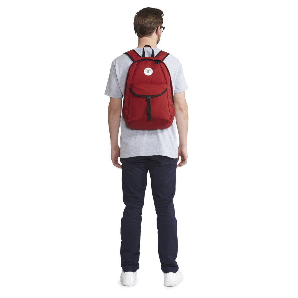 Crumpler Yee Ross Laptop Backpack | Claret YRS003-R08G40