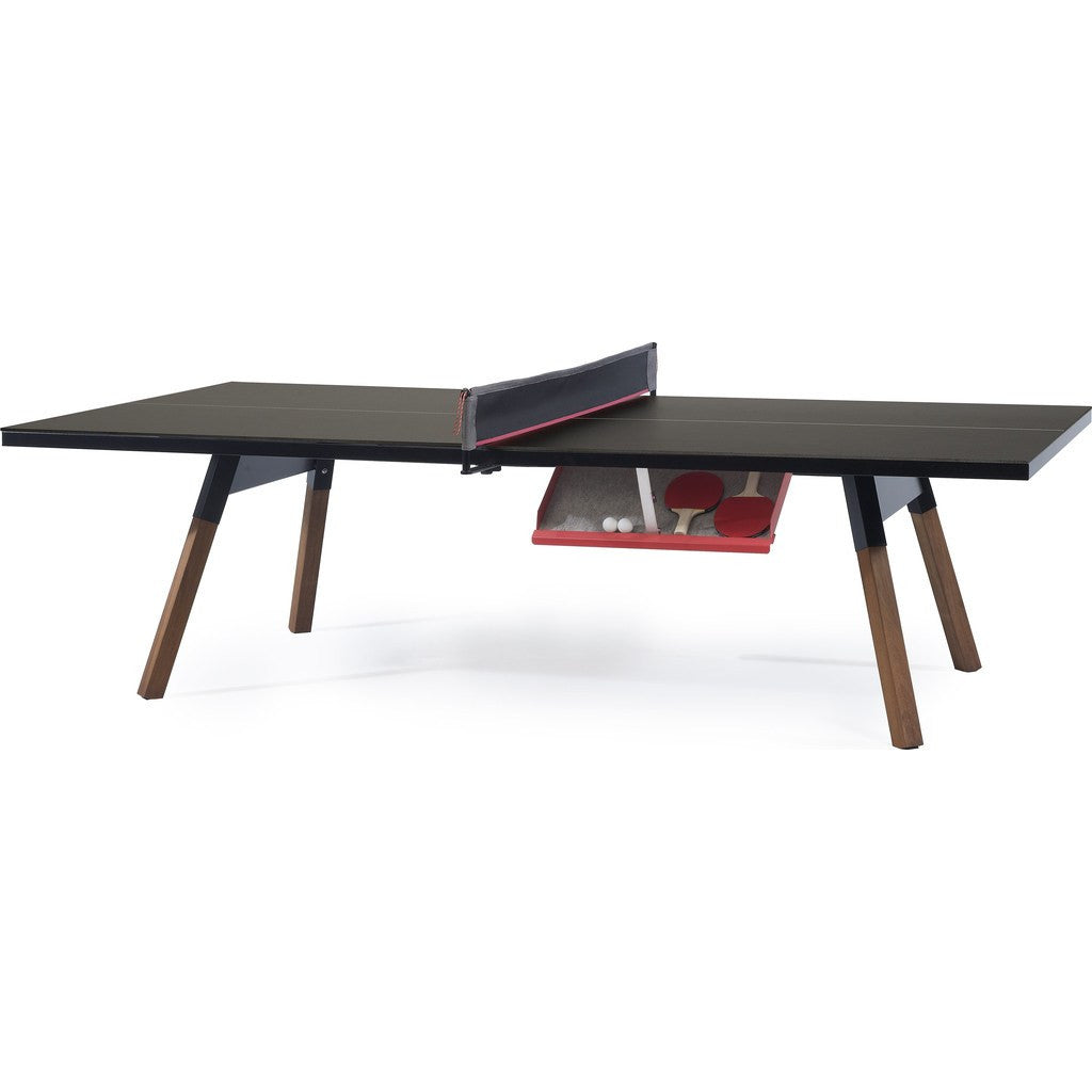 RS Barcelona You & Me Standard Ping Pong Table | Black YMS-2