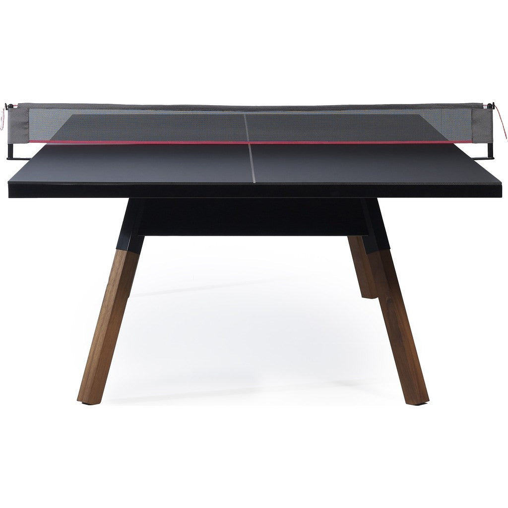 Rs barcelona you me standard ping pong table black - What is the size of a ping pong table ...