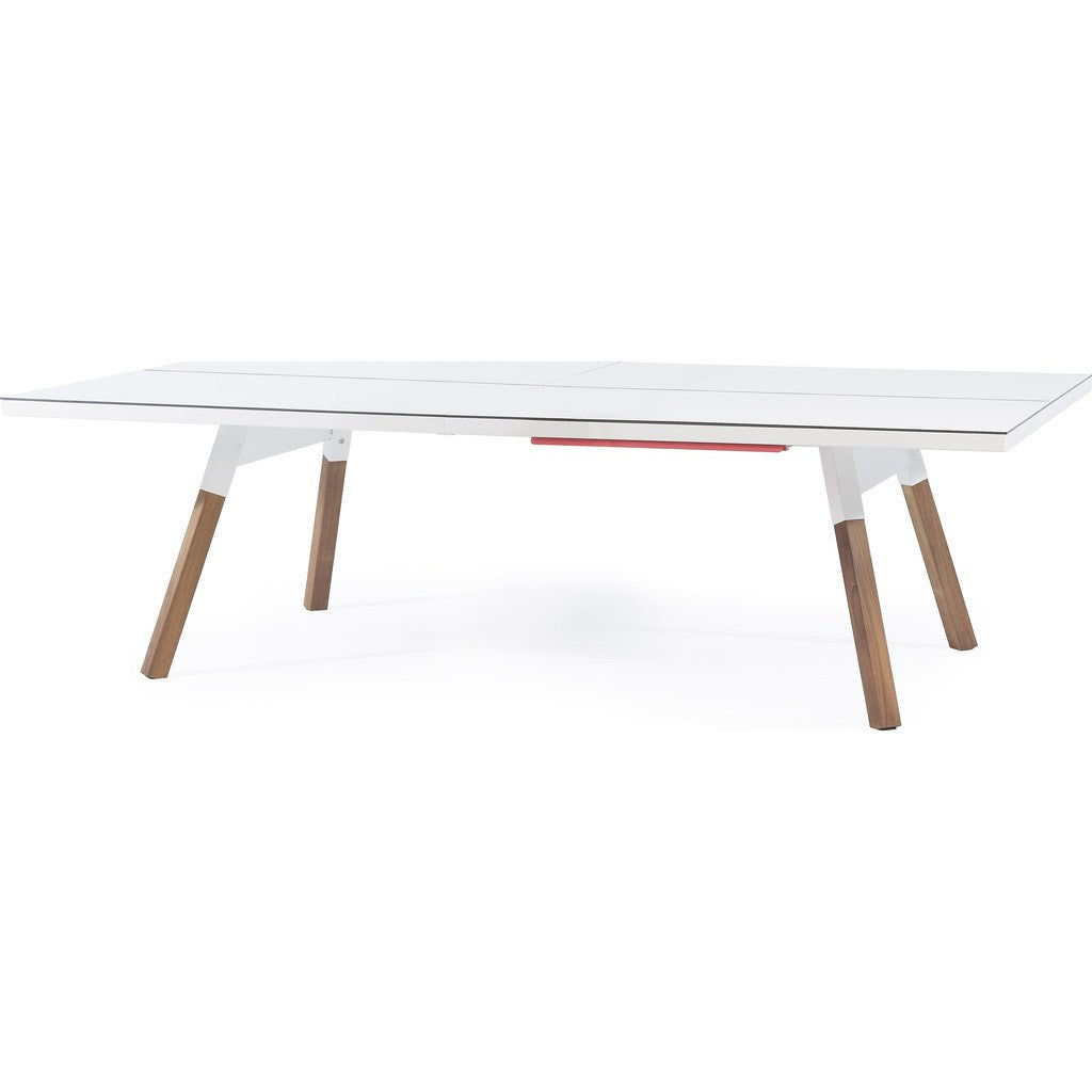 RS Barcelona You & Me Standard Ping Pong Table | White YMS-1