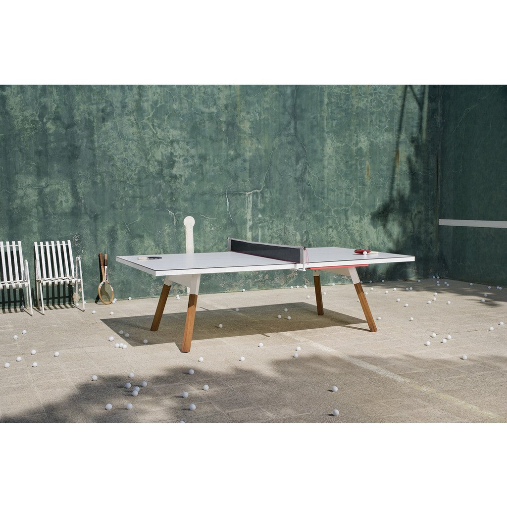 RS Barcelona You U0026 Me Standard Ping Pong Table | White YMS 1 ...