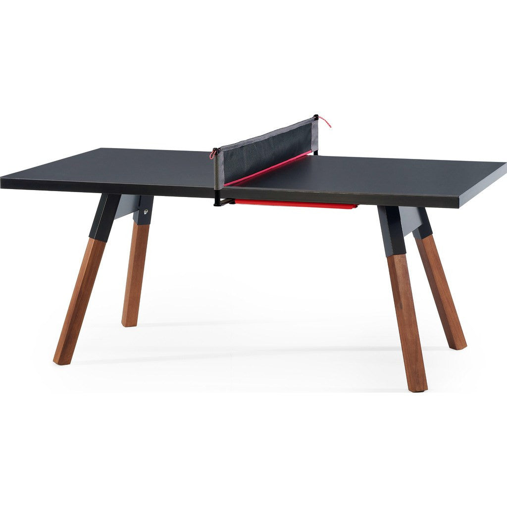 Rs barcelona you me 180 small ping pong table black for Runescape exp table 1 99