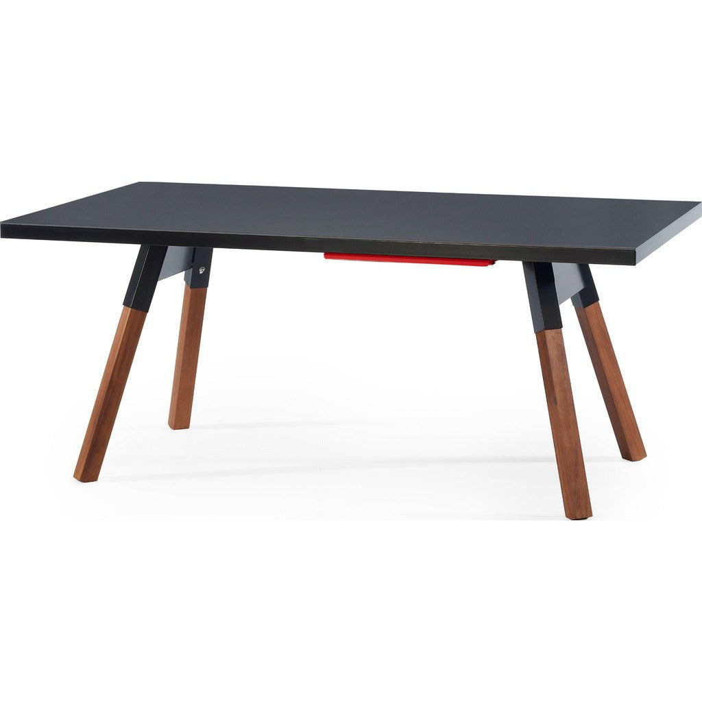 RS Barcelona You & Me 180 Ping Pong Table | Black
