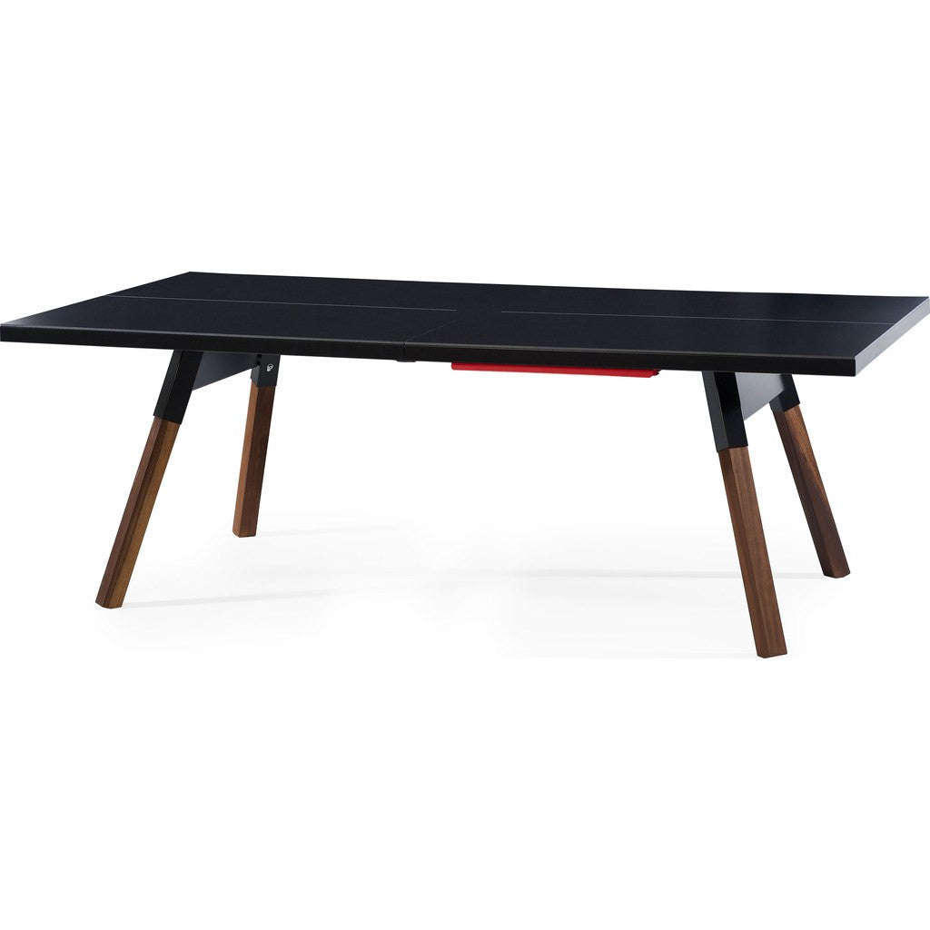 RS Barcelona You & Me 220 Ping Pong Table | Black
