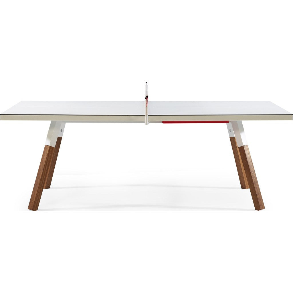 RS Barcelona You & Me 220 Ping Pong Table | White