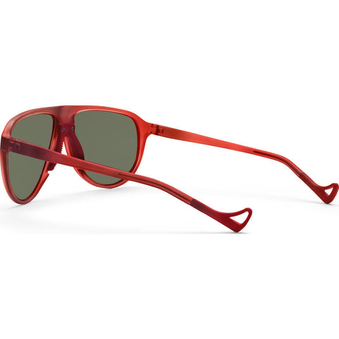 District Vision Yukari Red Sunglasses | District Sky G15
