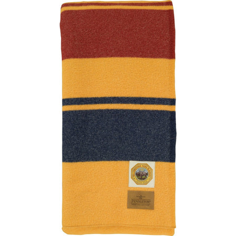 Pendleton National Park Twin Bed Blanket | Marigold ZA130