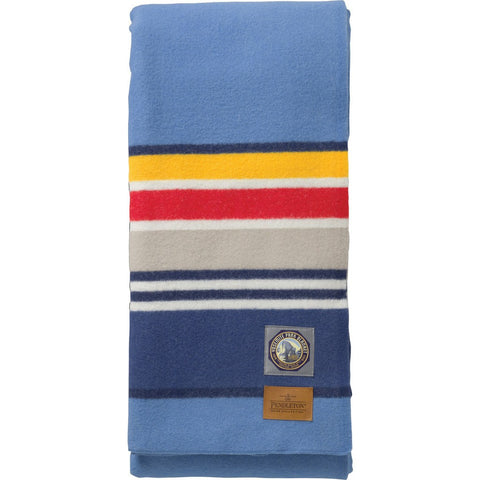 Pendleton National Park Full Bed Blanket | Light Blue ZA132