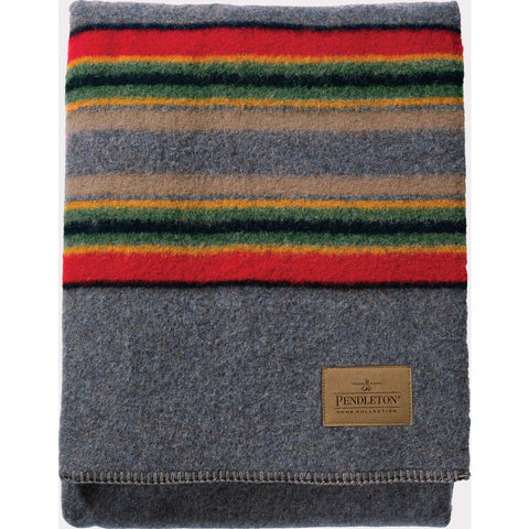 Pendleton Yakima Twin Bed Blanket | Blue Heather- ZA161 50054