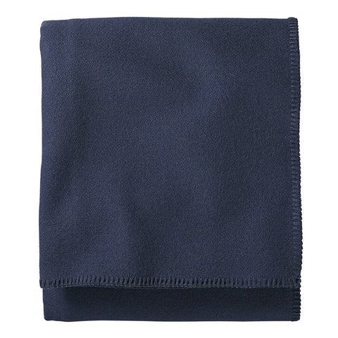 Pendleton Eco-Wise Wool Twin Bed Blanket | Midnight Navy ZA173-52942