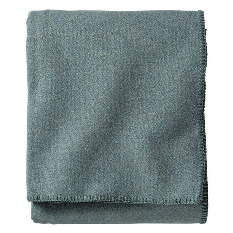 Pendleton Eco-Wise Wool Twin Bed Blanket | Shale Blue ZA173-52943