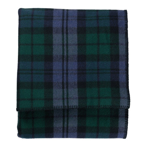 Pendleton Eco-Wise Wool Queen Bed Blanket | Black Watch Tartan ZA174-31087