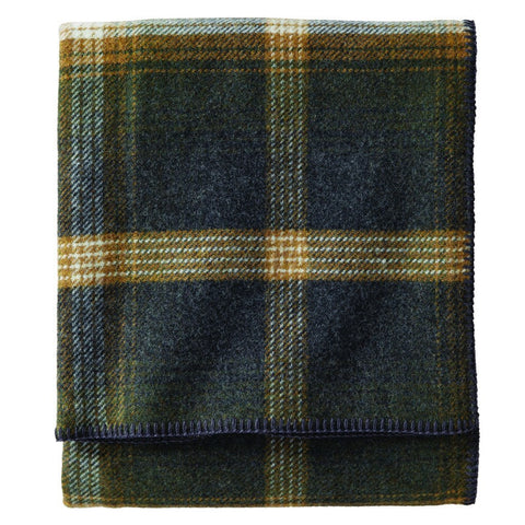Pendleton Eco-Wise Wool Queen Bed Blanket | Oxford Plaid ZA174-53071