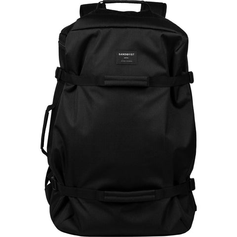 Sanqvist Zack Duffel Backpack | Black SQA689