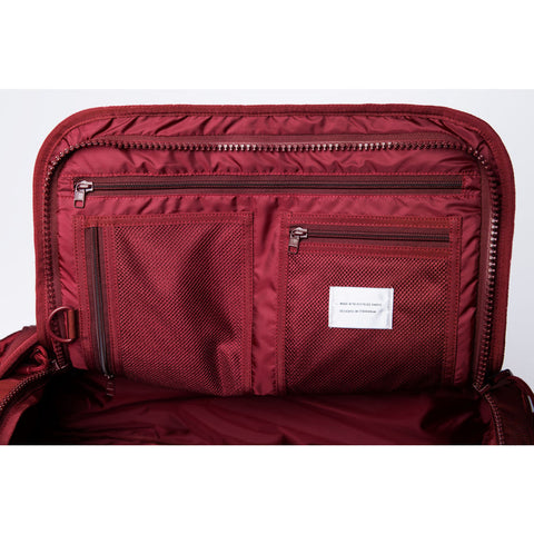 Sandqvist Zack S Duffel Backpack | Burgundy