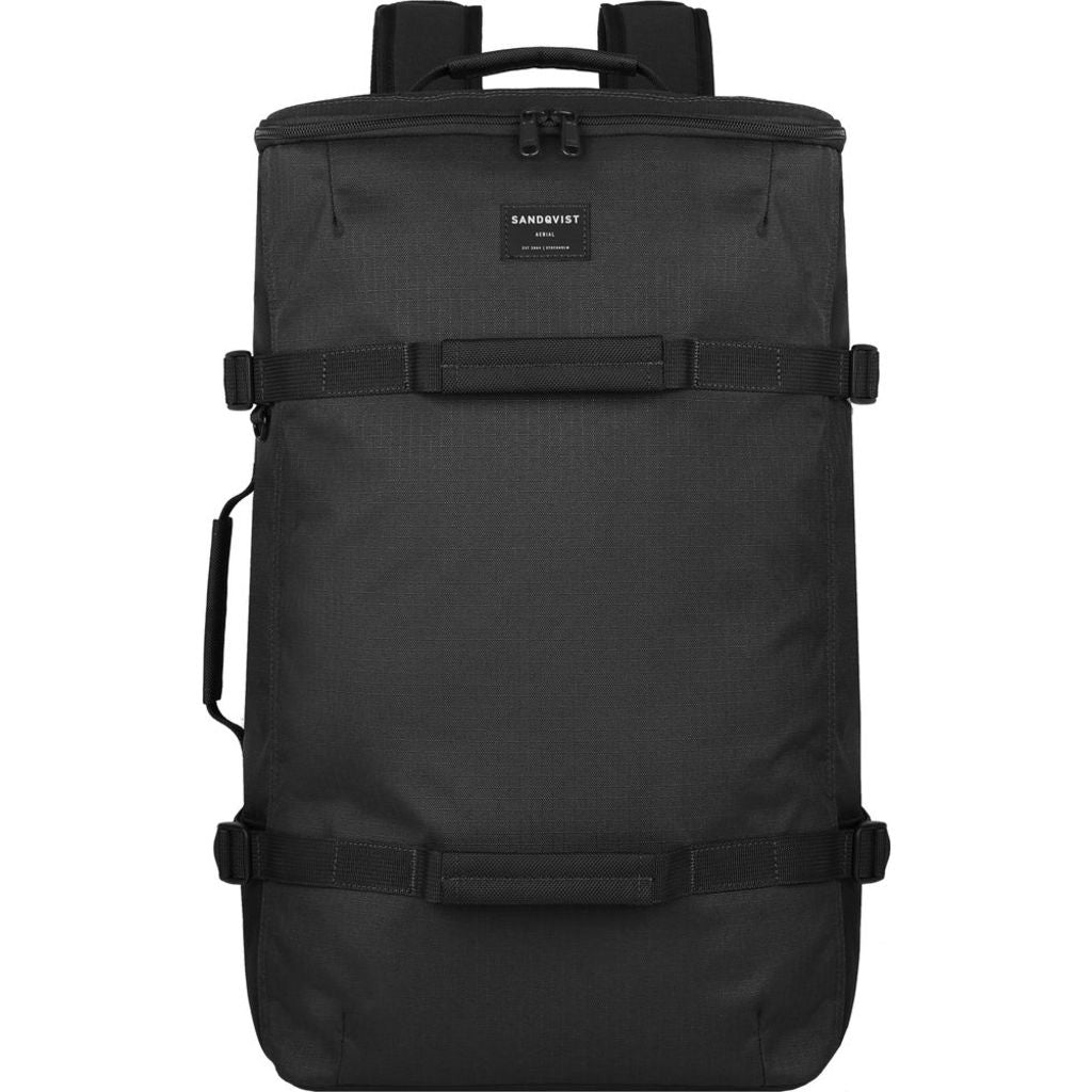 Sanqvist Zack S Duffel Backpack | Black SQA775