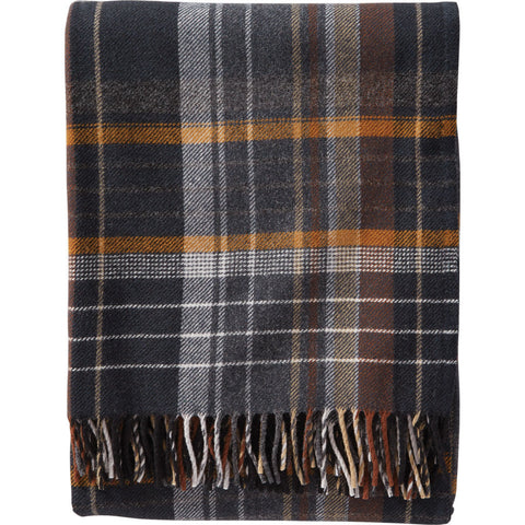 Pendleton Lambswool Throw Blanket | Coal- ZB282 53398