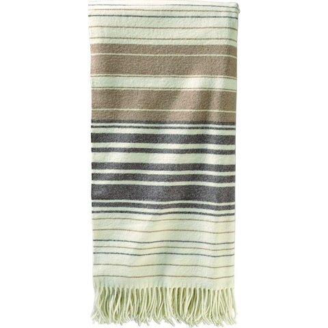 Pendleton 5Th Avenue Throw | Neutral Stripe ZB296